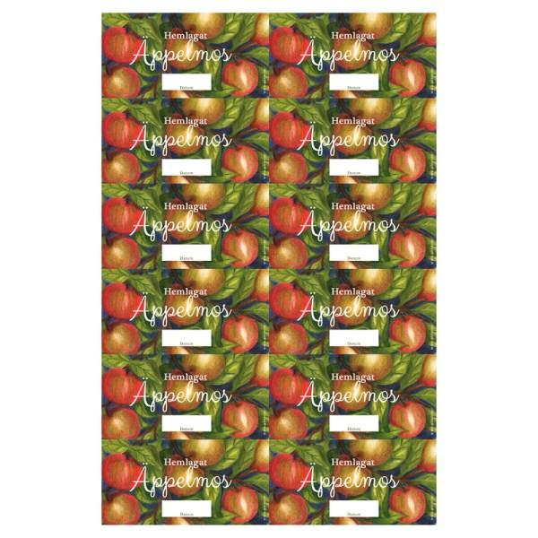 Burketiketter Äppelmos
