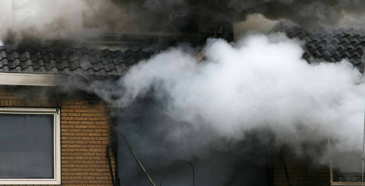 Smoke and fire damage - Antrim Construction provides restoration services