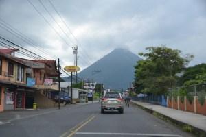 Weg naar La Fortuna Arenal Costa Rica