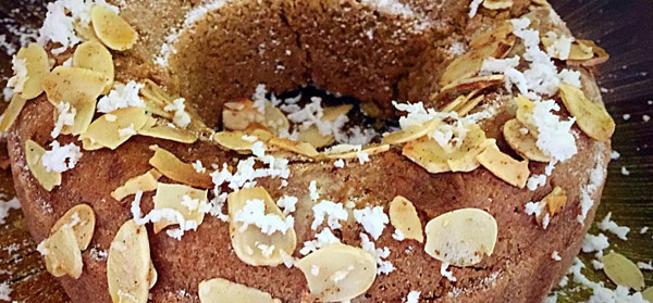 Rice and Coconut Cake