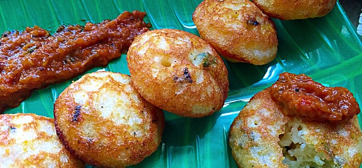 Sweet Corn Khuzhi Appam