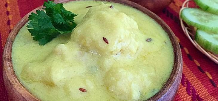 Radish Kofta Kadhi