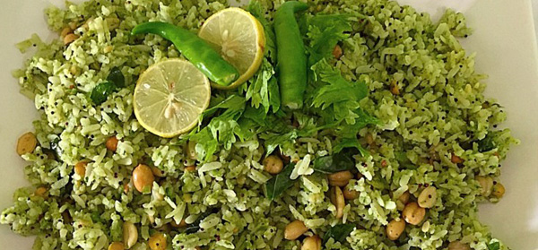 Mexican Desi Green Poha