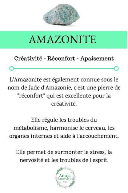 Amazonite - Signification, Propriétés, Bienfaits et vertus de la pierre en lithothérapie