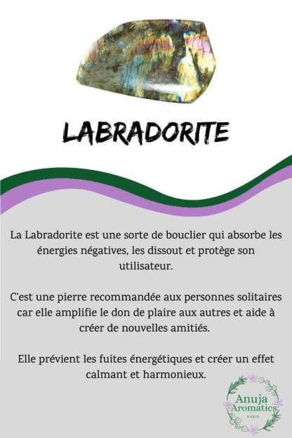 Labradorite - Signification, Propriétés, Bienfaits et vertus de la pierre en lithothérapie