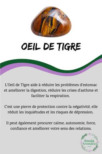 Oeil de Tigre - Signification, Propriétés, Bienfaits et Vertus en Lithothérapie