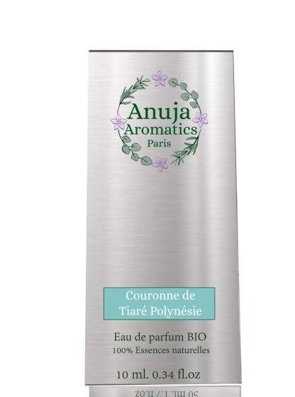 Couronne de Tiaré Polynésie Eau de parfum BIO 10 ml