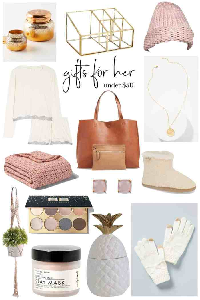 Gifts For Her Under 50 $ | Gift Guide