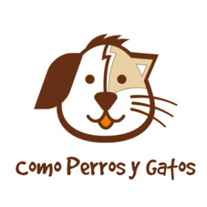 Logo como perro y gatos