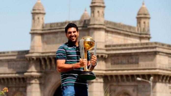 युवराज सिंह की चौतरफा वीरता ने भारत को 2011 विश्व कप जीतने में मदद की। (ट्विटर फोटो)