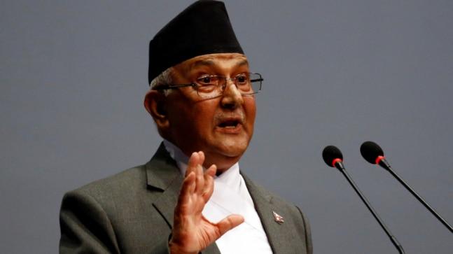 नेपाल के प्रधानमंत्री केपी शर्मा ओली