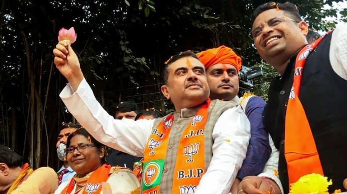 भाजपा नेता सुवेंदु अधिकारी की फाइल फोटो