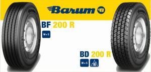 Anvelopa VARA BARUM 315/60R22.5 152/148L TL BF 200 R EU LRL 20PR