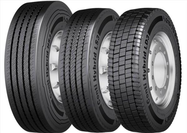 Anvelopa Vara Continental 205/75R17.5 124/122M Tl Conti Hybrid Ls3 Eu Lrf 12Pr M+S 2057517.5