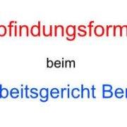 Abfindungsformel Arbeitsgericht Berlin - Anwalt für Arbeitsrecht - Kündigungsschutzklage