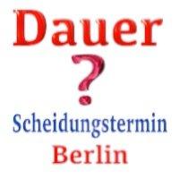 Dauer des Termins Ehescheidung in Berlin