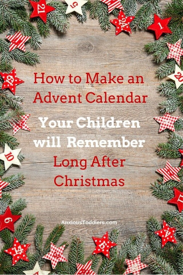 Make an advent calendar that will show your love.