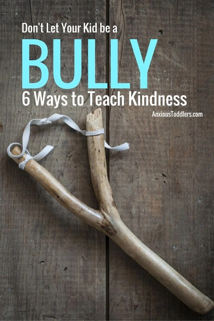 Does your kid bully other kids? Some kids have a hard time being kind. Help your child develop empathy with these 6 tips.