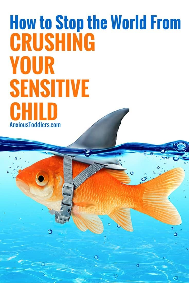 Is the world crushing your sensitive child? The harsh world can be overwhelming for emotionally sensitive children. Here are 5 ways to help them thrive!