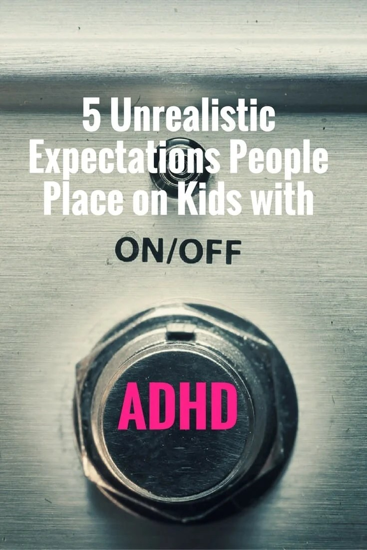 Working or parenting kids with ADHD can be exhausting, especially if you have the wrong expectations. Here are some expectations that people should throw out the window - and here is what they should do instead.