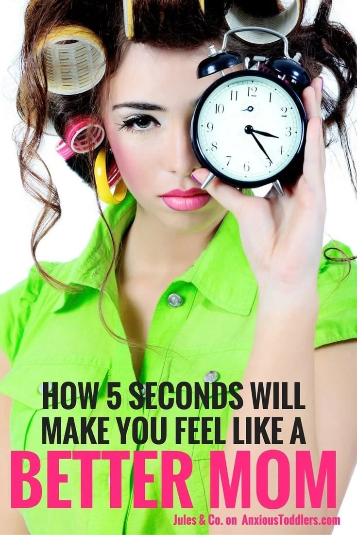 Having a bad day? Take 5 seconds to get your groove back with these great tips from Jules and Co.