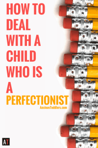 Are you trying to figure out how to deal with a child who is a perfectionist? Teach your kids to be successful without beating themselves up.