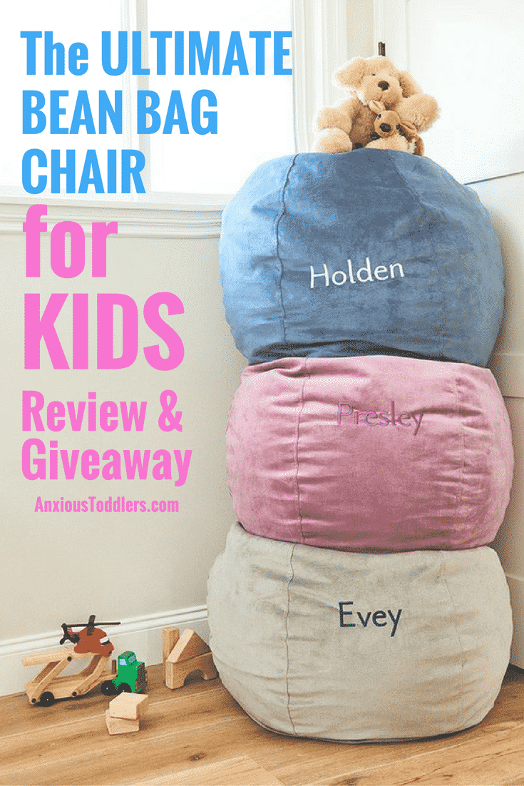 Is your child a wiggle worm? We've had no luck finding a bean bag chair that was hypoallergenic, comfortable and can stand the test of time, until now. Read my review and enter to win one of your own in the #giveaway!