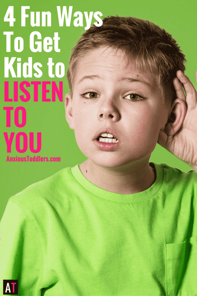 Tired of your kids not listening? Use these creative listening exercises for kids.