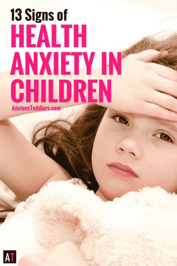 Do your kids want you to take their temperature all the time? Do they worry about cancer, tumors and heart disease? Here are 13 signs of Health Anxiety in children. Is your child's behavior beyond sickness?