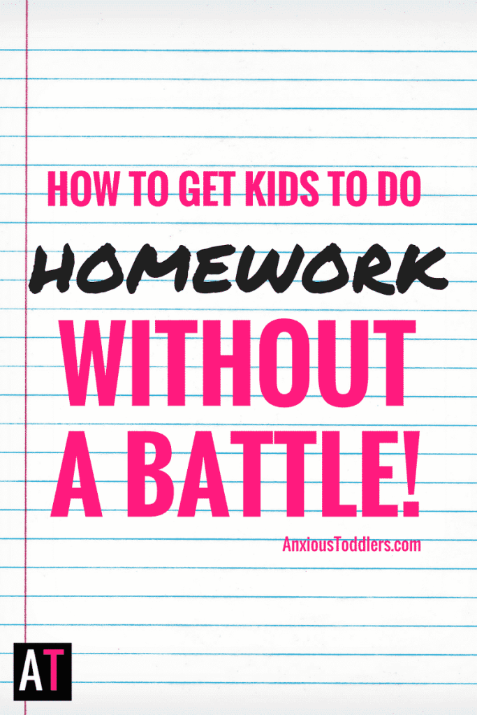 It is that time again. Didn't we just do this twenty-four hours ago? Getting your kids to do homework is a daily battle. Learn how to bring the peace back.