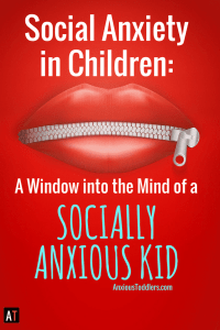 Your child gets embarrassed when you breathe wrong. They refuse to talk to strangers and they fixate on what other people think of them. Social anxiety can debilitate kids and confuse parents. This was me as a child. Let me give you a window into the mind of a socially anxious child. At times, it isn't pretty.
