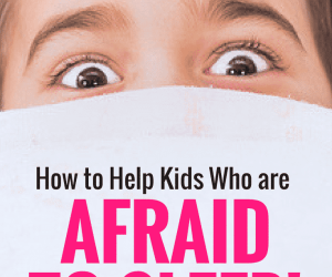 Ask the Child Therapist Episode 40: How to Help Kids Who are Scared to Sleep