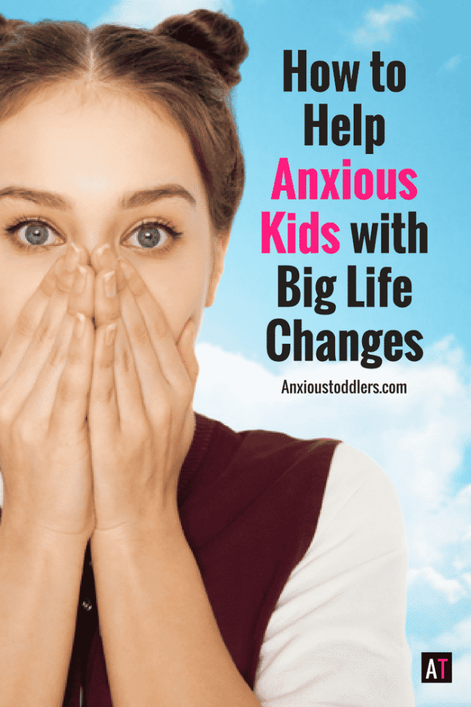Anxious kids don't hand change well and they definitely don't handle big life changes well! Here are some ways to make the change a bit smoother.