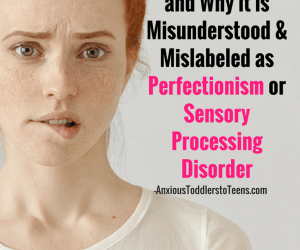 PSP 044: Just Right OCD: What it is and Why it is Misunderstood and Mislabeled as Perfectionism or Sensory Processing Disorder