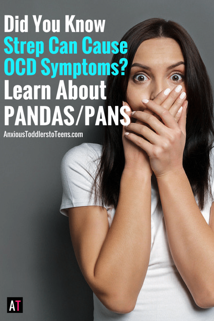 Every parent with a child with OCD or anxiety should know and understand PANDAS/PANS. The idea that a strep infection can cause OCD symptoms should be clearly understood.