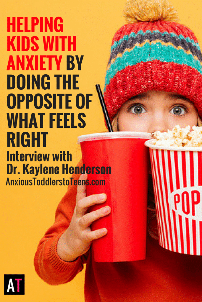 Helping kids with anxiety isn't always obvious. Sometimes the way to help seems counterintuitive to the way we want to parent. Learn what approaches work in my interview with Dr. Kaylene Henderson.