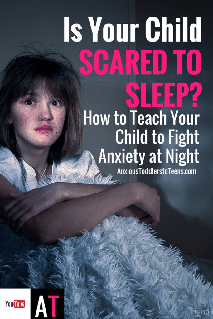 Most anxious kids are scared to sleep. Anxiety and sleep disturbance go hand in hand. To help I made a Youtube video for kids to watch to learn how to fight anxiety at bedtime.