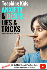 OCD and anxiety games, lies and tricks play a big part in disempowering kids. This week's kid's youtube video teaches kids how OCD and anxiety sell them lies and why they shouldn't take the bait.