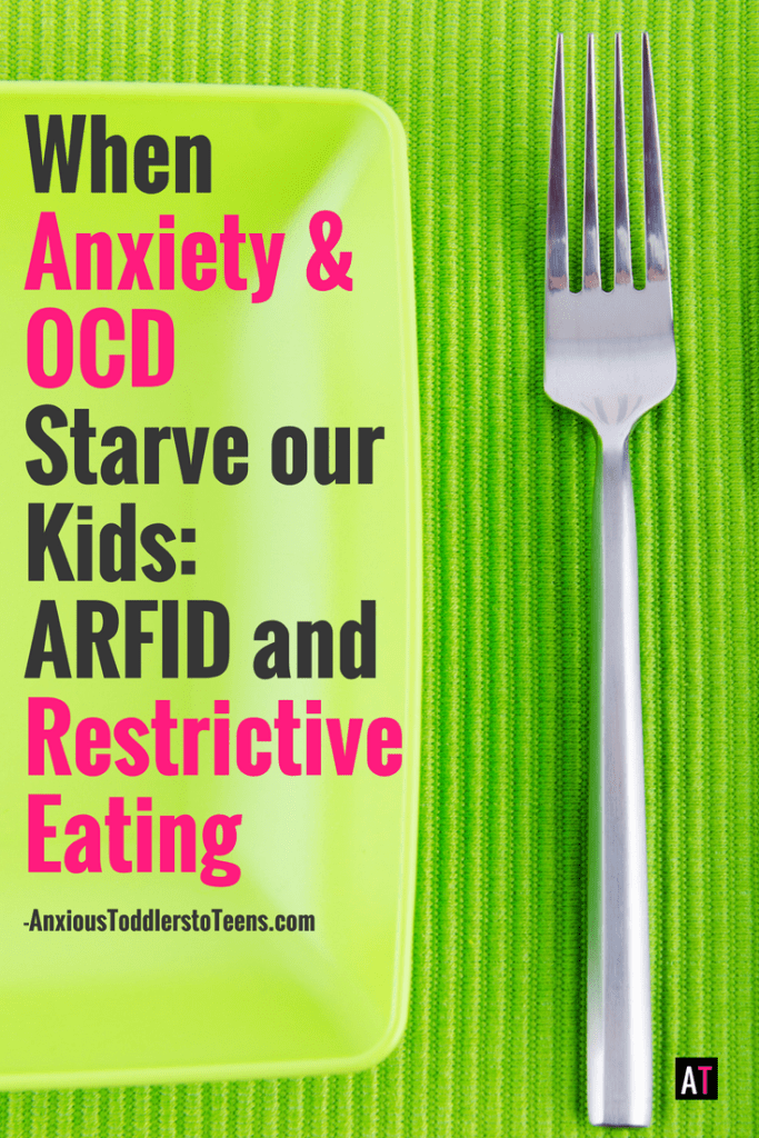 ARFID – when anxiety or OCD can impact your child's ability to eat and thrive. What it is and how to help them.