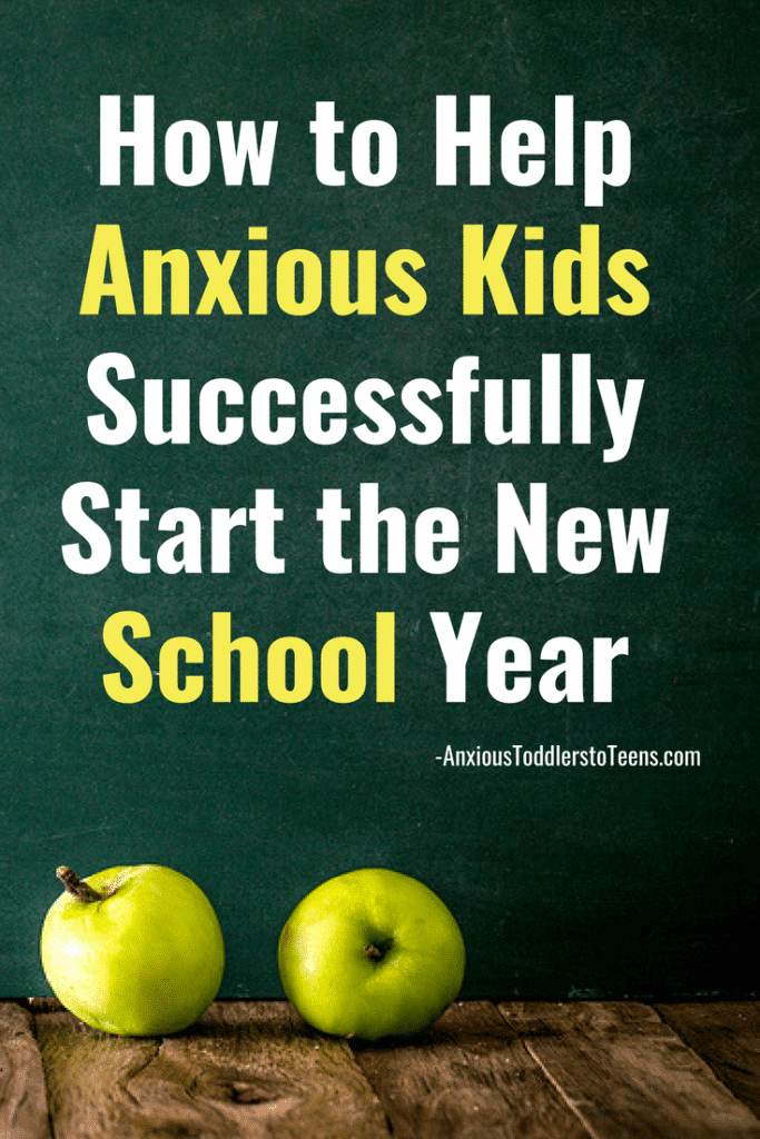 Do you wonder how to help anxious kids start of the school year successfully? Here are my best tips to get you off on the right foot.