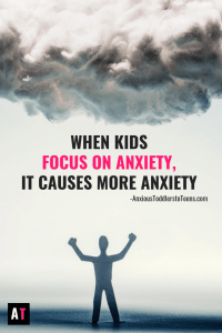 Anxiety loves for us to focus on it! The hard part is – when we focus on it, actually causes anxiety to dig it's claws deeper. Teach your child to refocus their attention, even when anxiety is pounding at the door!