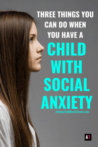 Having a child with Social Anxiety can be hard. As a therapist, here are the first three things I recommend parents do.
