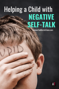 Is your child too hard on themselves? Always quick to say it is their fault. In this Kids Youtube video I talk to kids about negative self-talk.