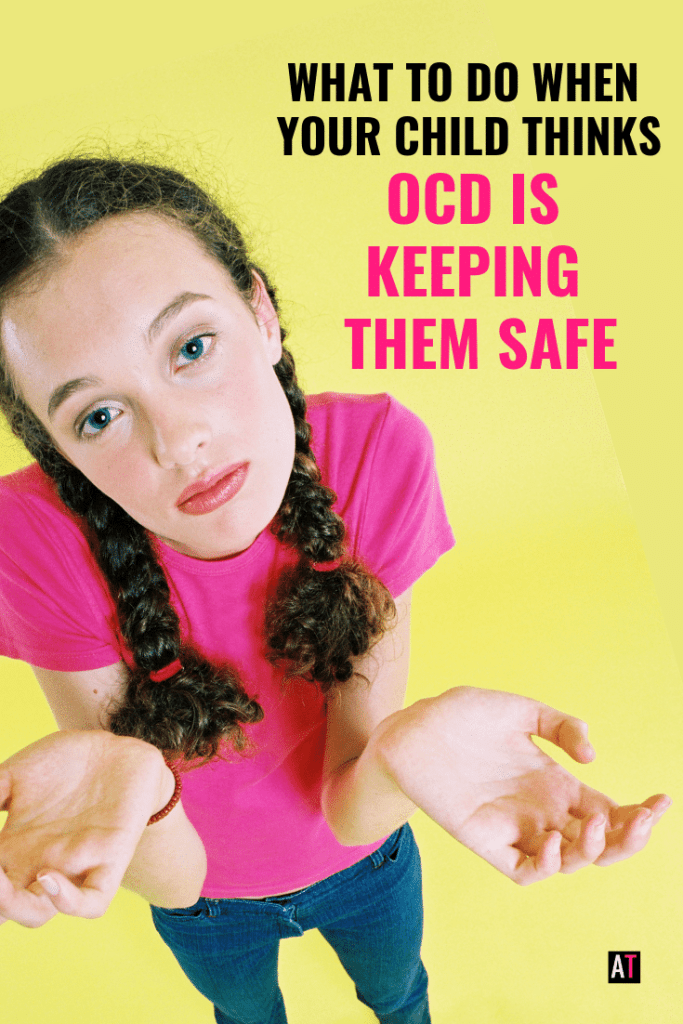 Does your child think OCD is keeping them safe from danger, germs or moral calamities? This kids Youtube video will help kids see how OCD does not have their back.