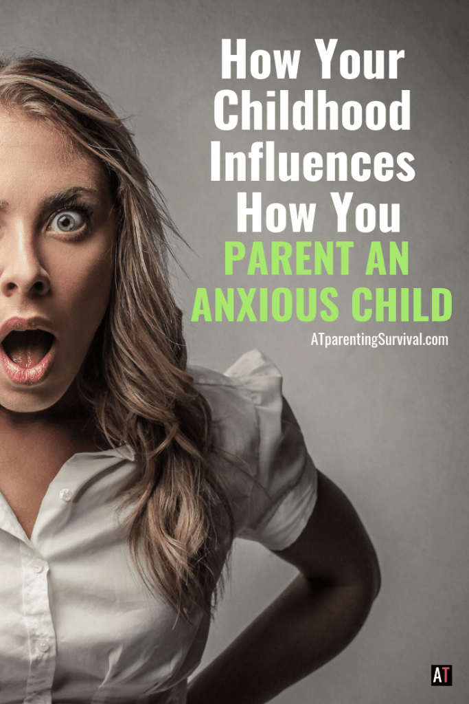 Do you understand how your childhood influences how you parent an anxious child? Learn how and parent with intention.