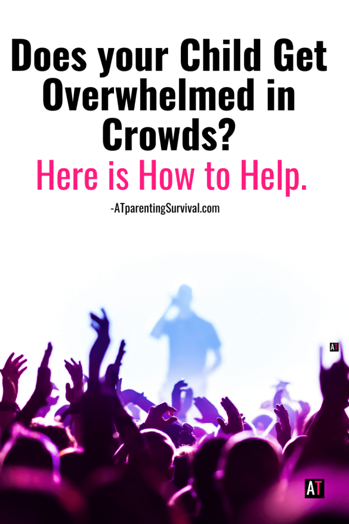 Does your child get overwhelmed by crowds? Have them watch this kids Youtube video on how to develop some good coping mechanisms to help with this issue.