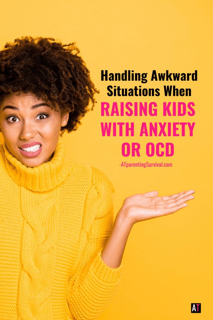 Ever wonder how to handle some of the awkward situations you find yourself in while raising a child with anxiety or OCD. In this episode I invited Evie & Sarah from Modern Manners for Moms & Dads to dive into it!