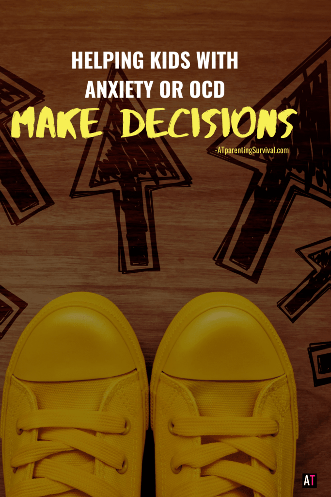 Many kids with anxiety or OCD have a hard time making decisions. In this latest episode I talk about how to help kids overcome this struggle.