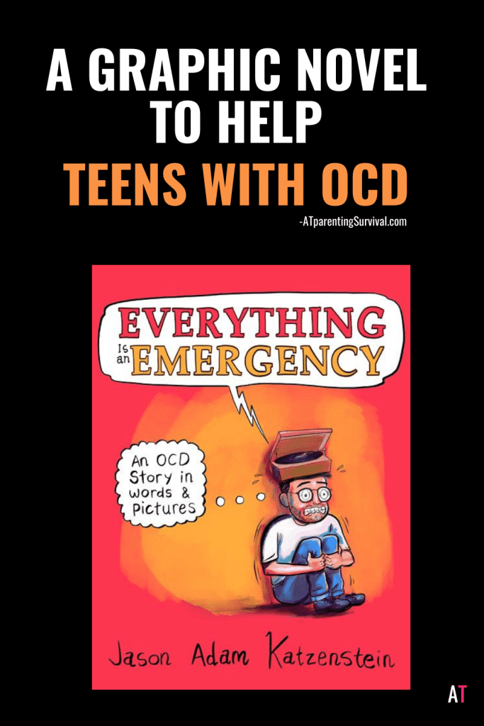 Finally there is a relatable teen graphic novel to help teens with OCD! I had the pleasure of interviewing Jason Adam Katzenstein about it.
