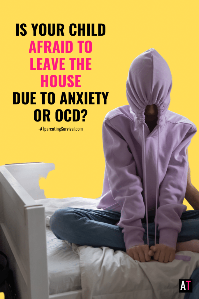 In this week's YouTube video I talk to kids about the fear of leaving the house due to their anxiety and OCD and how they can work through these struggles.